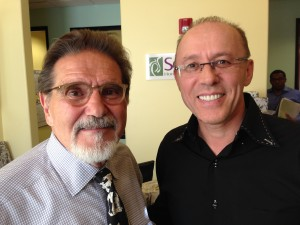 Dr. Ostrovsky with Dr. Tutera, founder of SottoPelle Therapy.