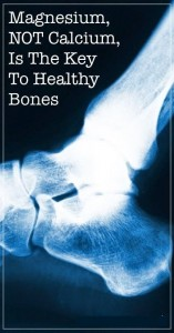Magnesium is important for bone strength
